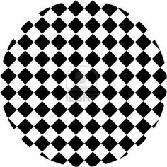 Black and white hypnotic background. Stock Photo