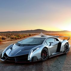 Exhibited at the 2013 Geneva motor show a lamborghini edition of the new model, only in the production of three lamborghini Veneno was on display and sale. Lamborghini Veneno maximum output power of 552 kw / 740 horsepower, from 0-100 km/hour speed is only 2.8 seconds, design a maximum speed of 354 kilometers per hour. It sells for 3 million euros, and no tax, so the three have been booked out.