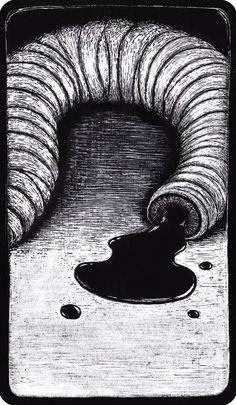 Cuando descubrí que tu camino era el enredo, que tu tranquilidad reposaba en los laberintos del drama, cuando entendí que encontrabas sosiego solo en la destartalada maraña del infortunio y me arrastrabas con mucho vértigo a las profundas aguas negras… E: DelReal I: Brnd Hnjs