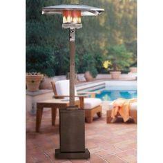 Costco: Square Bronze Propane Patio Heater