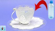 How to Transform Plastic Bottle Into Beautiful Mug - Art and Craft Ideas - YouTube
