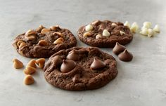 Get this delicious Design Your Own Chocolate Cookie Recipe and share with family and friends from HERSHEY'S Kitchens.ca!