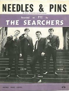 1964-sheet music-Needles & Pins- The Searchers