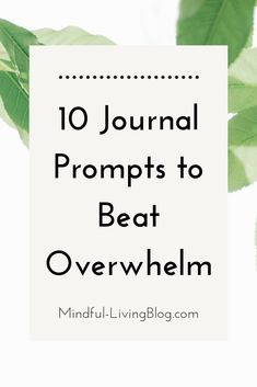 Feeling frozen in a state of overwhelm at home, at work or in life in general? Don't sweat it. Learn how to  beat overwhelm in 3 simple steps, and snag 10 journal prompts to help you with the process. Journal Prompts, Writing Prompts, Writing Ideas, Journal Ideas, Overwhelmed By Life, Feeling Overwhelmed, Indoor Games, Indoor Activities, Summer Activities