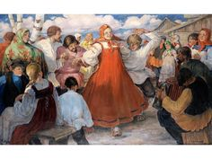 Buy online, view images and see past prices for Michal Zavistovksy, 1897 – Invaluable is the world's largest marketplace for art, antiques, and collectibles. Fine Art Auctions, Russian Art, Instruments, Painting, Music, Dance, Canvas, Musica, Musik
