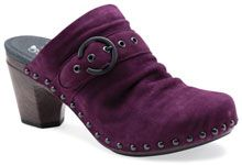 Nadine Plum Kid Suede....gotta get me a pair of these! yeah!