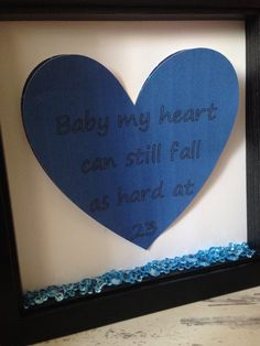Wall art ~ personalised personalized shadow box frame ~ Verse or poem written on a love heart ~ valentines gifts ~ bithday gifts by FunkyDesignsbyDi on Etsy Personalized Wall Art, Shadow Box Frames, Love Heart, Valentine Gifts, Birthday Gifts, Poems, 3d, Writing, Unique Jewelry
