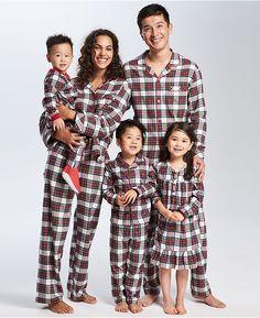 d6f6d1f8bb Brinkley Plaid Family Pajama Set Matching Family Christmas Pjs
