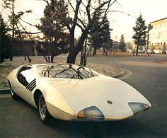 Toyota EX-III, 1969. You can tell mankind had just landed on the moon. It's a Star Trek Toyota baby..