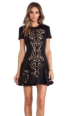 Alice McCall Traveland Ship Dress in Black | REVOLVE