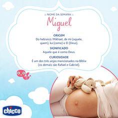 Miguel foi o nome mais comum usado em 2014 no Brasil. Para as grávidas de plantão, já escolheram o nome? E para as mamães, conta pra gente, seu filho tem um nome mais comum ou diferente?