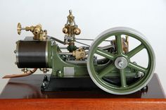 Stuart No 9 Steam Engine - View From The Flywheel Side