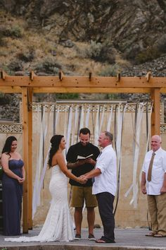 Wood Arbor For Weddings Lake Chelan Event Location Venue