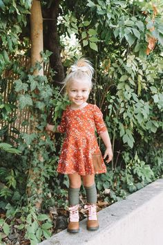 Cool Outstanding Toddler Girl Fall Outfit Ideas To Look Cute Now Outfits Niños, Girls Fall Outfits, Little Girl Outfits, Cute Outfits For Kids, Little Girl Fashion, Little Girl Style, Girls Fall Dresses, Baby Style, School Outfits
