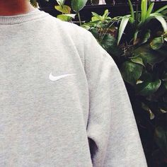 Nike light grey jumper