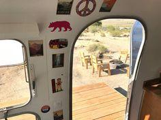 Hip Joshua Tree Desert Airstream