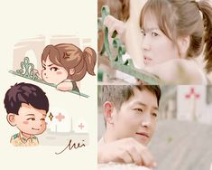 Descendants of the Sun EP. Live Action, Desendents Of The Sun, Descendants Of The Sun Wallpaper, Kdrama, Song Joon Ki, Songsong Couple, Drama Fever, Best Dramas, Song Hye Kyo