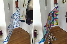 Before & After: Blank Entryway Gets a Bright, Easy Makeover   Apartment Therapy