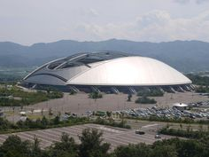 Oita Stadium - The Big Eye - Kisho Kurokawa