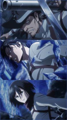 Levi, Kenny and Mikasa Otaku Anime, Manga Anime, Anime Art, Attack On Titan Fanart, Attack On Titan Levi, Levi Mikasa, Armin, Naruto, Sasuke