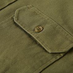 Filson twill chino shirt.