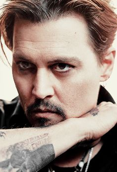 Johnny Depp pour le prochain 'Sauvage' parfum de Dior