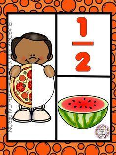 Montessori Math, Preschool Math, Kindergarten Math, Teaching Math, Math Activities, Second Grade Math, Fourth Grade Math, Math Fractions Worksheets, Math Drills