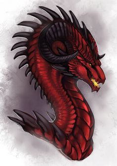 Rubellite Wyvern by Adalfyre on DeviantArt