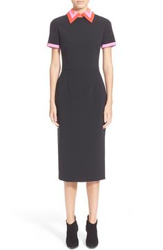 Roksanda 'Bayham' Short Sleeve Pencil Dress available at #Nordstrom