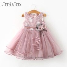 Toddler Baby Girl Clothes Cartoon Rainbow Printed Sleeveless Halter Dress Cute a-Line Sundress one Piece Outfit 3color