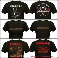 Tricouri oficiale Bathory pentru fete si băieți. Accesati www.metalheadmerch.ro pentru mai multe modele. #romania #tricouri #bathory Metalhead, Band Tees, Mai, Instagram Posts, Mens Tops, T Shirt, Fashion, Supreme T Shirt, Moda