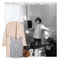 """Recording In Hotel w/ Best Friend (Niall)"" by fangirl-1d ❤ liked on Polyvore featuring Kofta, Madden Girl, Bobbi Brown Cosmetics, Chanel, Forever 21, women's clothing, women, female, woman and misses"
