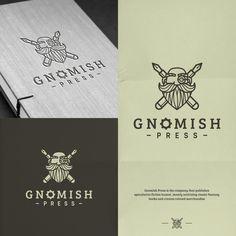 Gnomish Press Logo Design   99designs