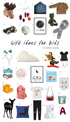 Gift ideas for kids - NordicDesign