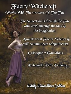 green witchcraft The Many Types of Witchcraft Types Of Witchcraft, Green Witchcraft, Wiccan Witch, Fairy Spells, Magick Spells, Wicca Witchcraft, Witch History, Witchcraft For Beginners, Types Of Fairies