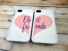 """Best friends"" iPhone protection PurelyPersonalized sur Etsy, $39.99"