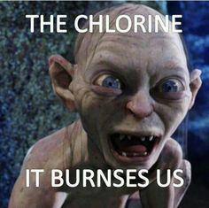 It burns! It burns!