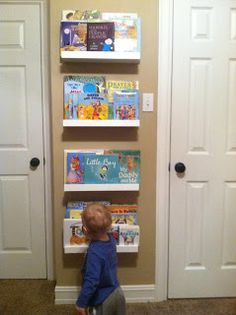 Little Library: for limited wall space