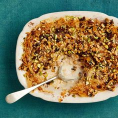 Egyptian bread pudding From grilled pepper salad to chicken pie: Yotam Ottolenghi's north African recipes Lentil Recipes, Fish Recipes, Vegetable Recipes, Sweets Recipes, Egyptian Bread, Egyptian Food, Ottolenghi Recipes, Yotam Ottolenghi, African Recipes