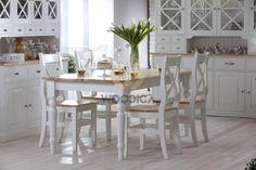Stół drewniany Nicea rozsuwany - Woodica