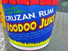 Voodoo Juice is a delicious and dangerous little concoction ! We will see ! Malibu Rum Bucket Recipe, Malibu Rum Drinks, Rum Recipes, Drinks Alcohol Recipes, Summer Drinks, Fun Drinks, Pool Drinks