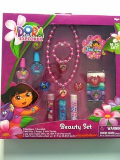 Dora the Explorer Hair, Jewelry and Cosmetic Accessory Box Set by HER Accessories. $8.99. Dora the Explorer Accessory box set