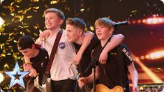 See more from Britain's Got Talent at Teenage rock band Chapter 13 proved that there's NOTHING unlucky about the number Watch the moment Amanda hit her Golden Buzzer and sent the boys rock 'n' rollin' Britain's Got Talent, Believe, Rock Bands, Band Band, School Of Rock, Version Francaise, Buzzer, Stevie Wonder