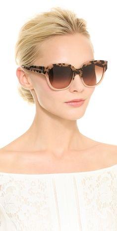 Stella McCartney Tortoiseshell Sunglasses   SHOPBOP