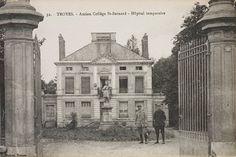 L'ancien collège saint-Bernard est également réquisitionné.