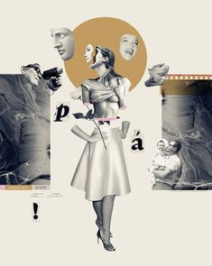 Collage Illustration for Superinteressante on Behance