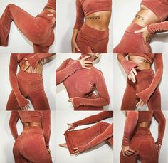 6af2e6e943f High-waist flared pants with matching turtleneck. Available in Black
