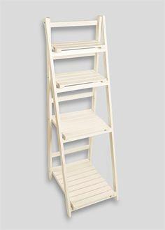 Slatted Bathroom Shelving Ladder Unit x x - Creative Storage Ideas - Shelves Bathroom Corner Shelf Unit, Corner Shelf Ikea, Bathroom Cabinets Over Toilet, Bathroom Shelving Unit, Bathroom Shelf Decor, Bathroom Storage Shelves, Wall Mounted Shelves, Ladder Shelves, Bathroom Ladder
