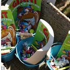 Fun Reception Ideas for the Kids - activities basket