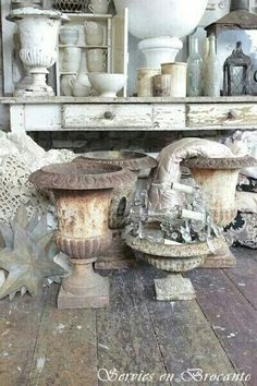 Awesome french country decor ideas are available on our web pages. look at this and you wont be sorry you did. French Decor, French Country Decorating, Garden Urns, French Architecture, French Country House, Architectural Salvage, Vintage Decor, French Vintage, Decoration